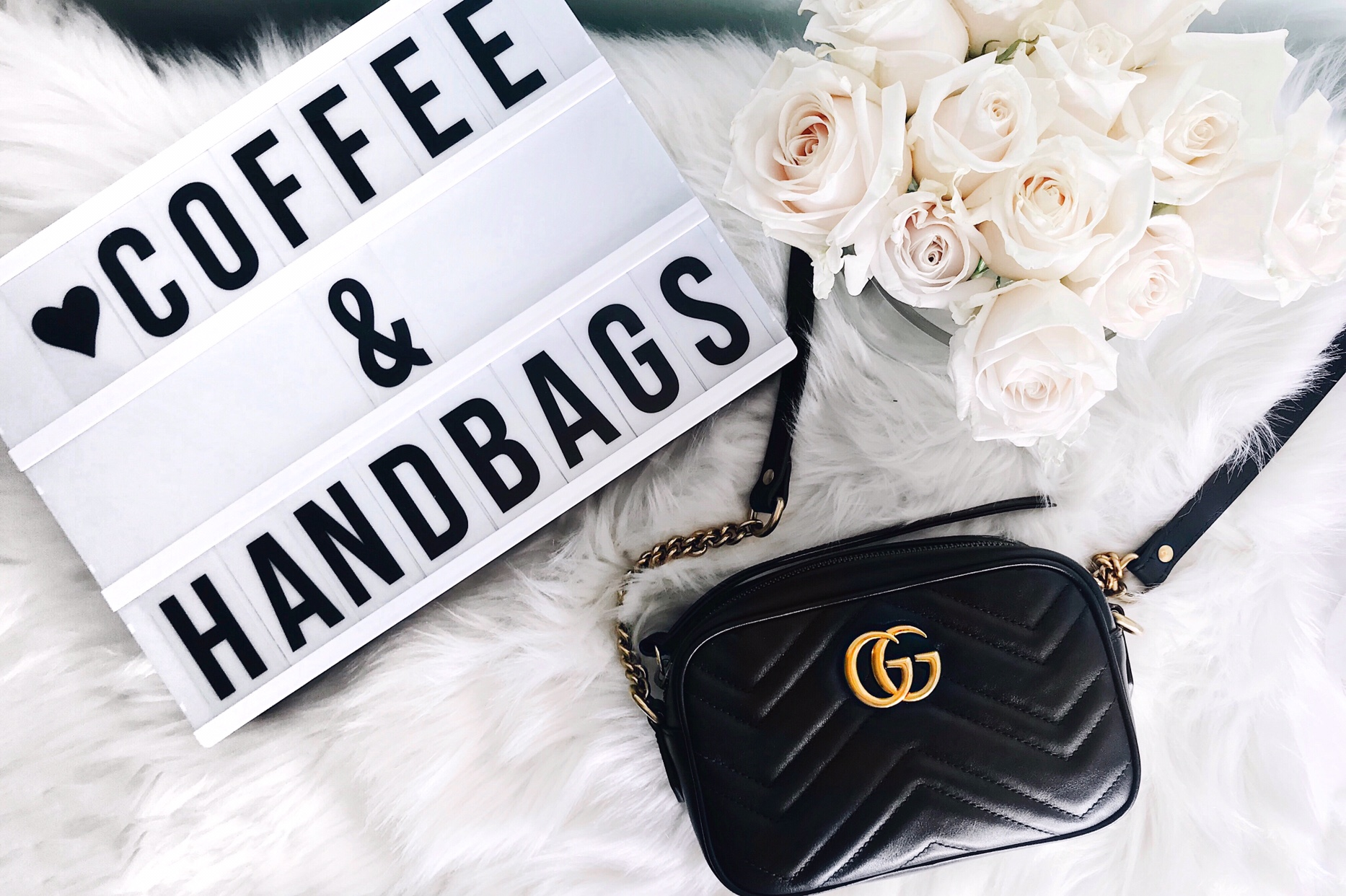 Gucci Marmont Mini Camera Bag Review | CoffeeAndHandbags.com