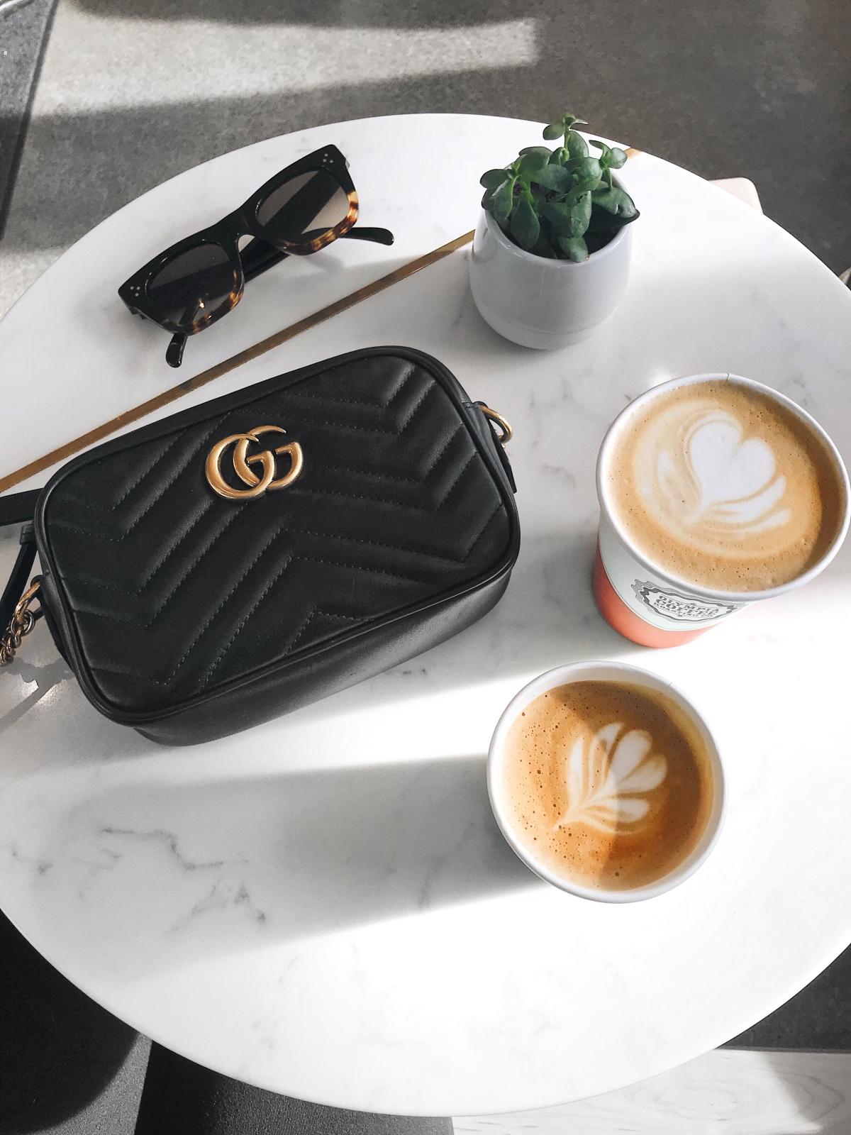 Bag Review Gucci Marmont Mini Camera Bag Coffee And Handbags