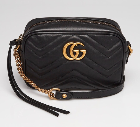 Bag Review Gucci Marmont Mini Camera Bag Coffee And Handbags