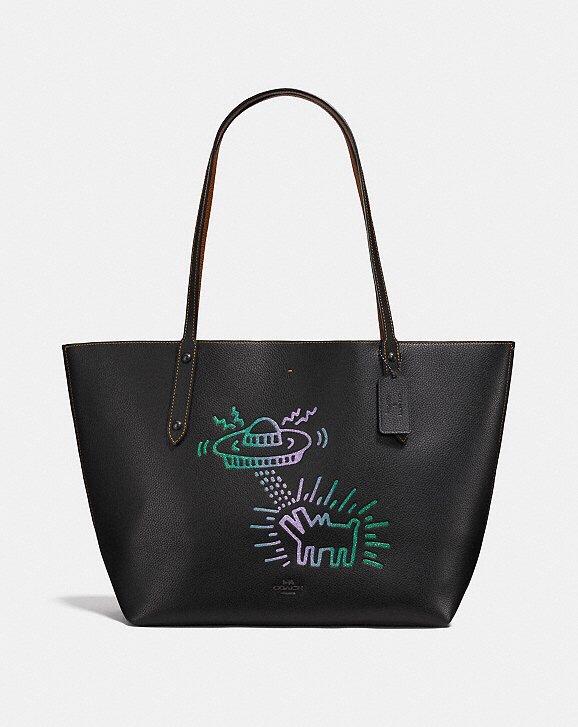 Coach x Keith Haring UFO Market Tote