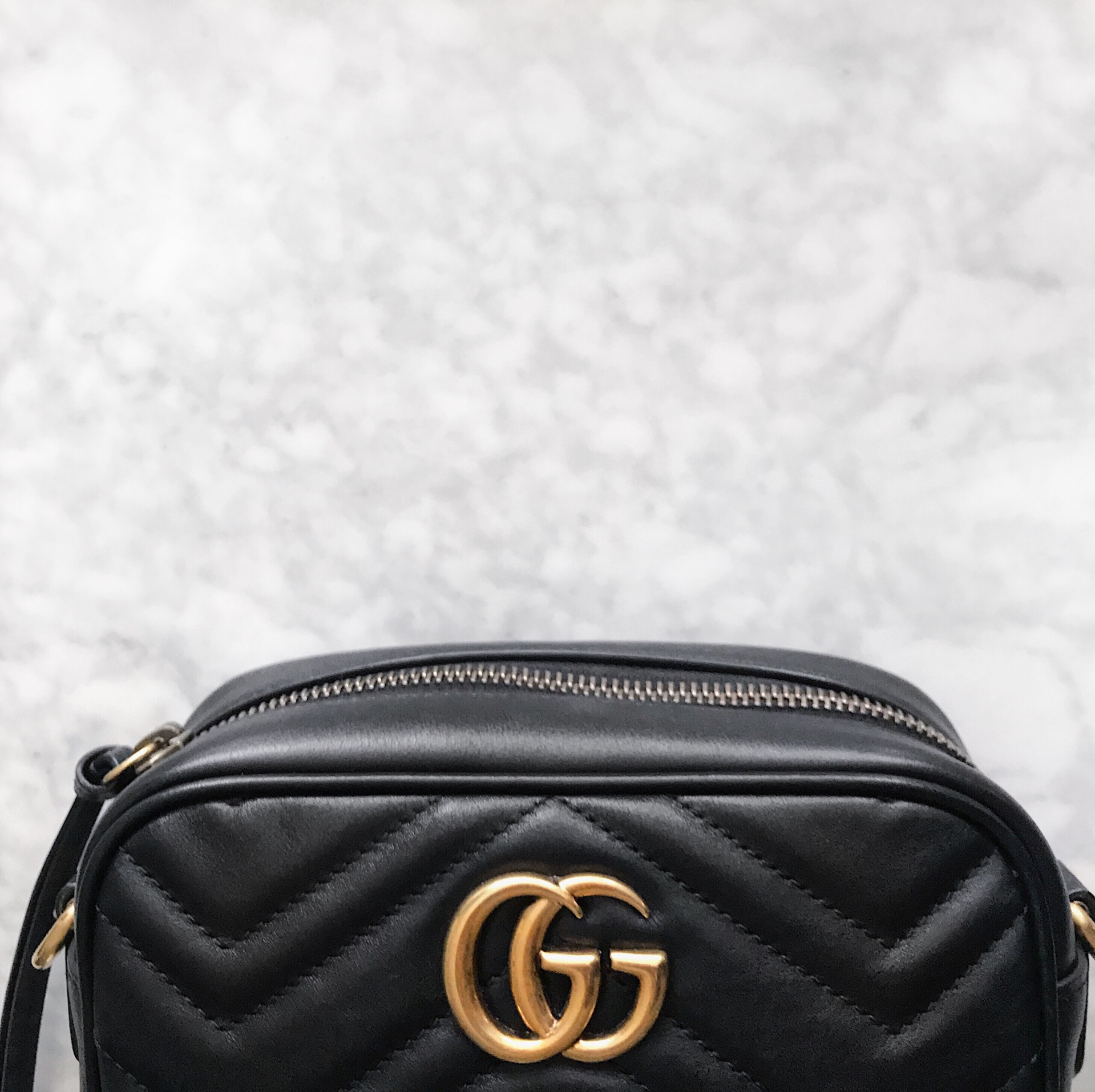 39d7fb08e0cbd9 Bag Review: Gucci Marmont Mini Camera Bag – Coffee and Handbags