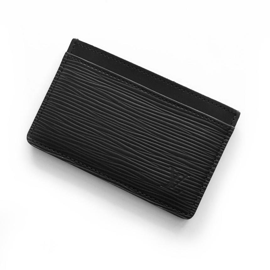 Louis Vuitton Epi Leather Simple Card Case Review   CoffeeAndHandbags.com