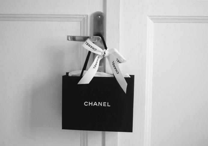 Chanel Black Shopping Bag
