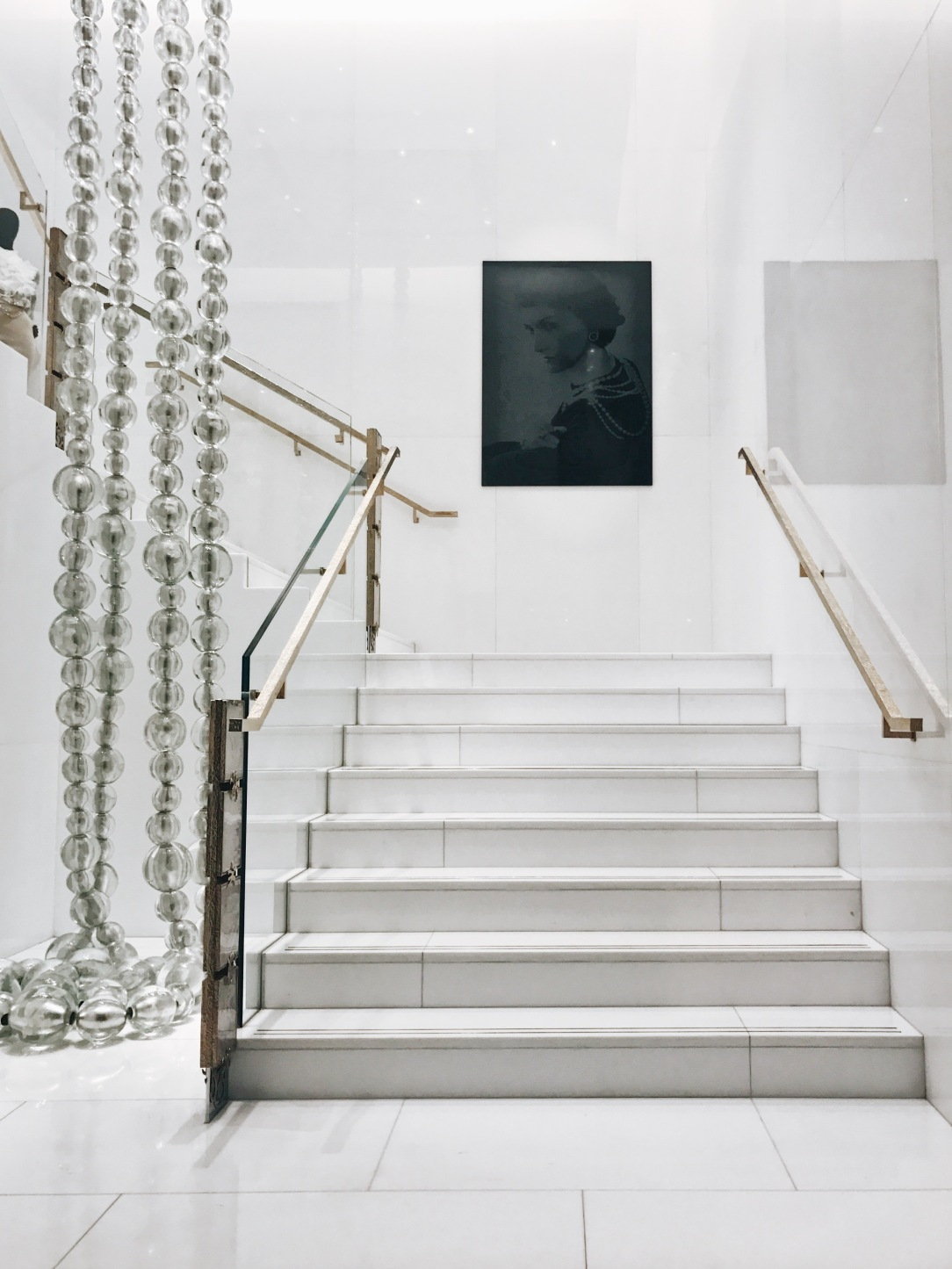 Coco Chanel Staircase in Paris | CoffeeAndHandbags.com