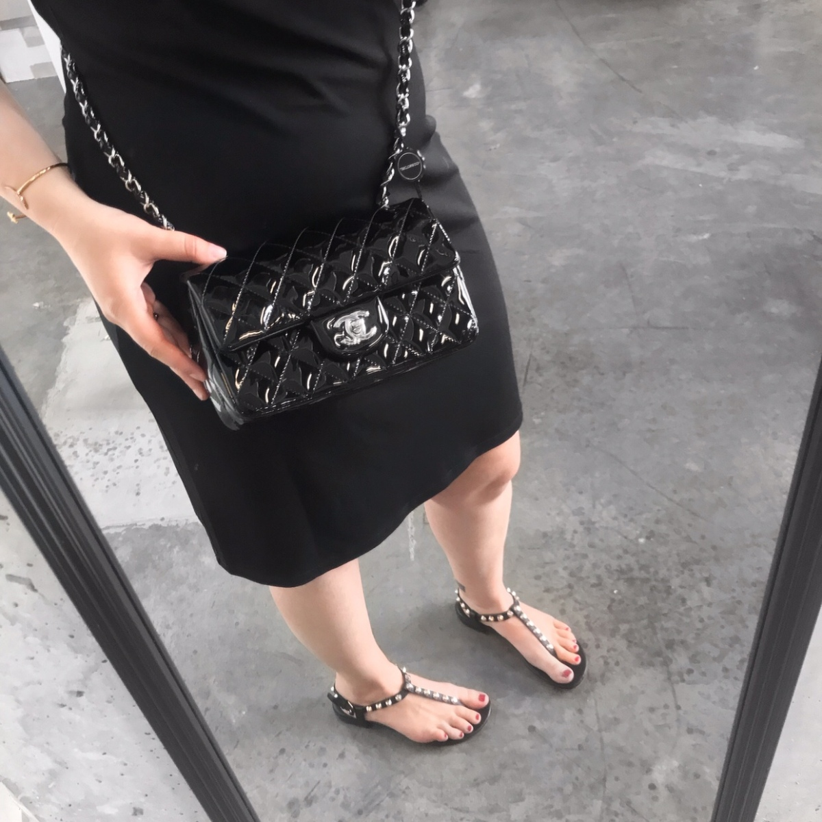 ad8459b9e11a Wishlist & Try On: Chanel New Mini Classic Flap Bag – Coffee and Handbags