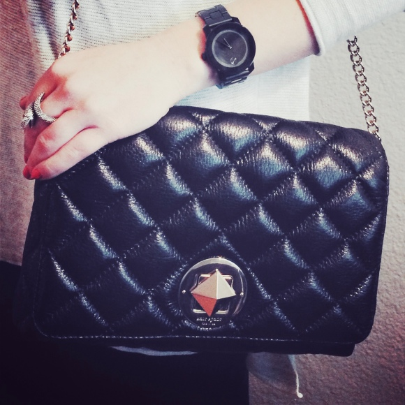 Kate Spade Quilted Flap Bag