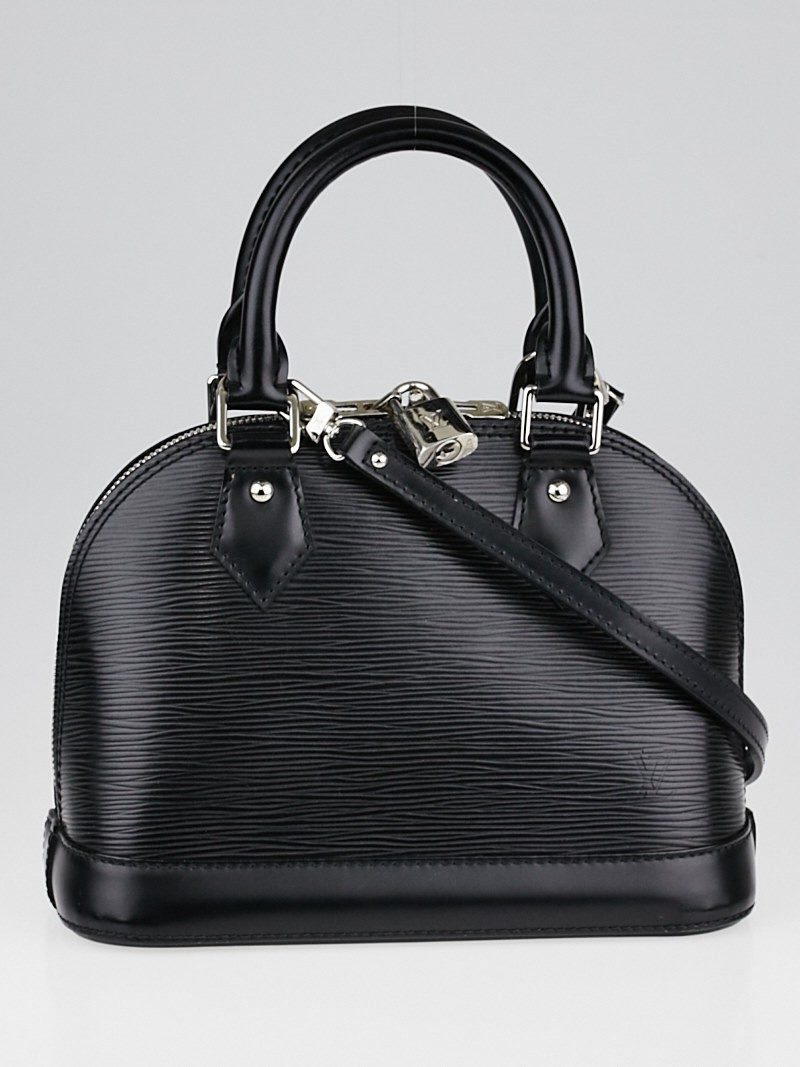 Louis Vuitton Black Epi Leather Alma BB Bag