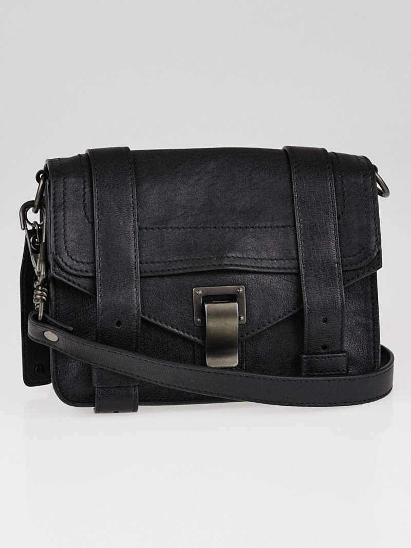 Proenza Schouler Black PS1 MINI CROSSBODY