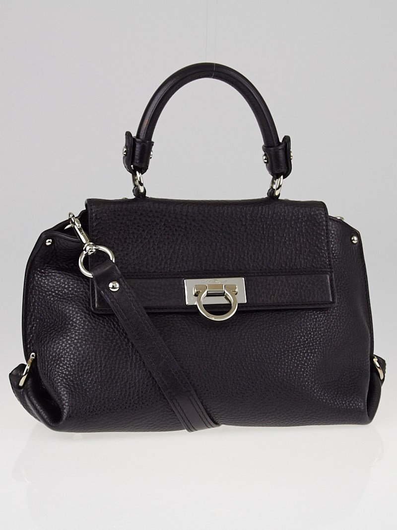 Salvatore Ferragamo Calfskin Small Sofia Bag