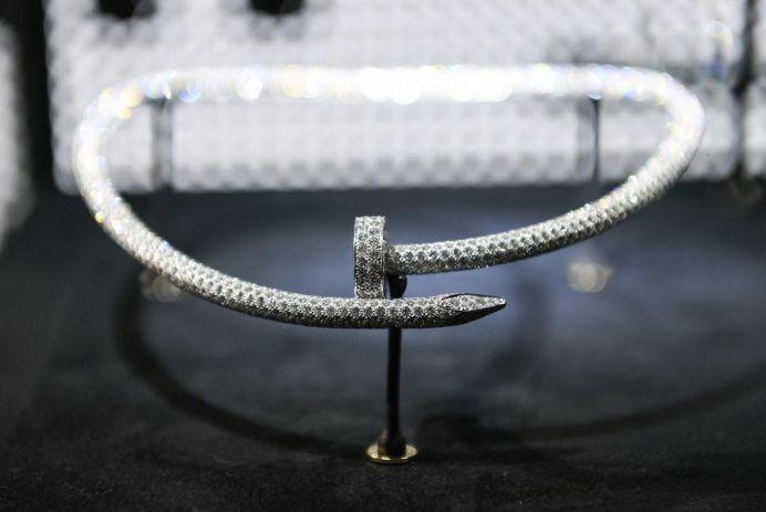 Cartier Juste Un Clou Diamond Necklace