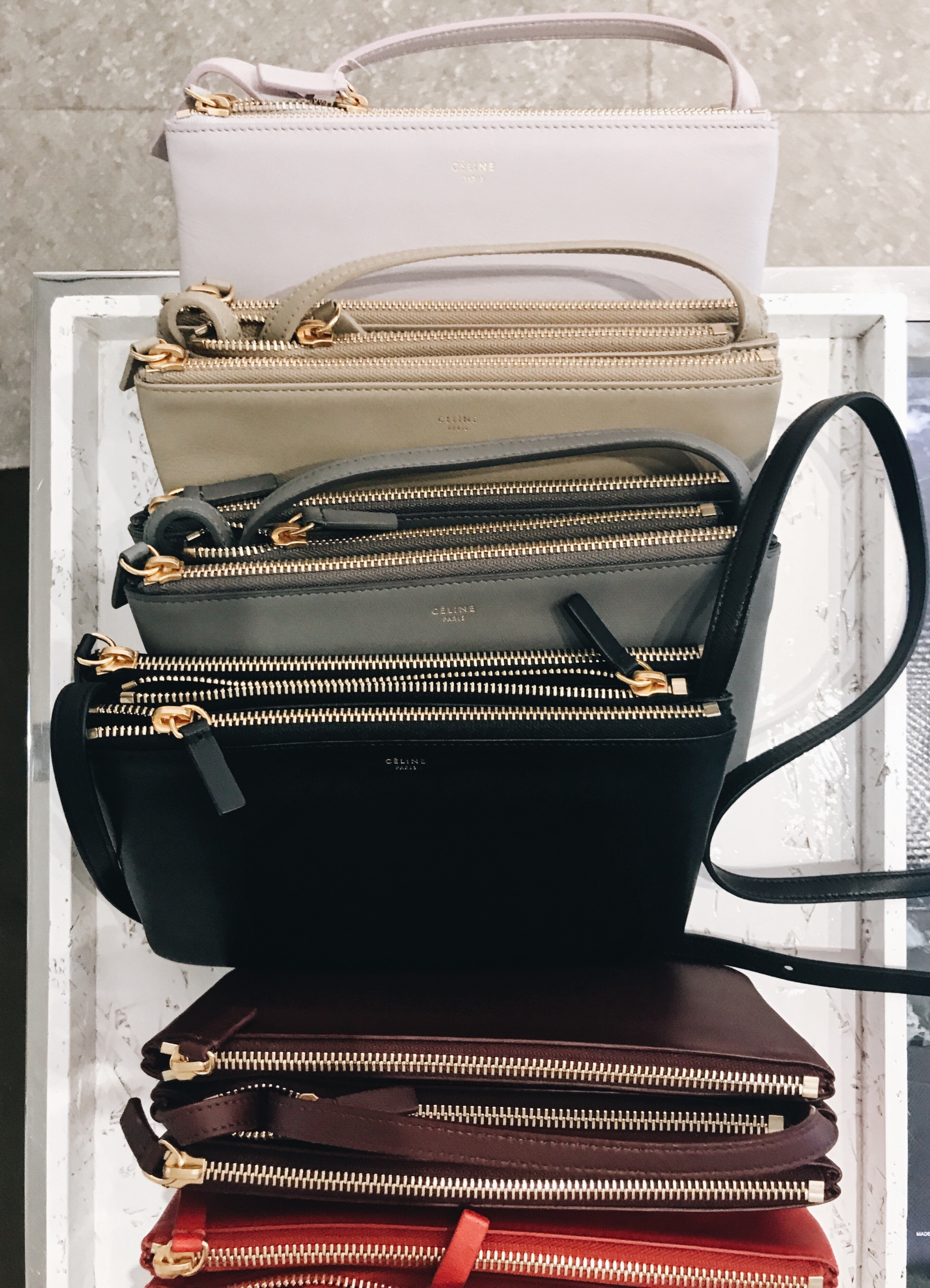 Celine Trio Crossbody Bag Collection