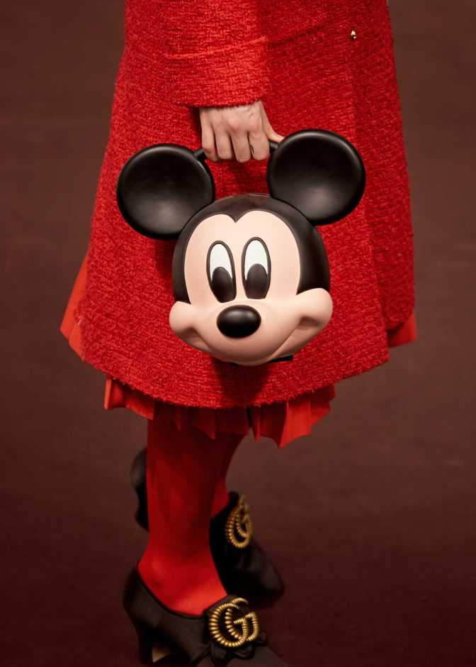 Gucci Spring 2019 Mickey Mouse Bag