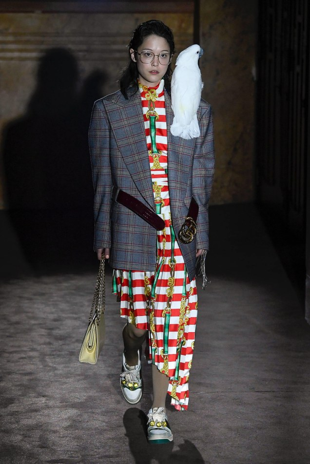 Gucci Spring 2019 | Photo: Yannis Vlamos; Marcus Tondo / Indigital.tv