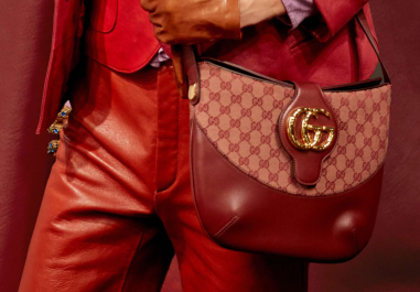 Gucci Spring 2019 Red GG Messenger Bag