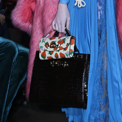 Gucci-Spring-Summer-2019-Pink-Fur-Coat