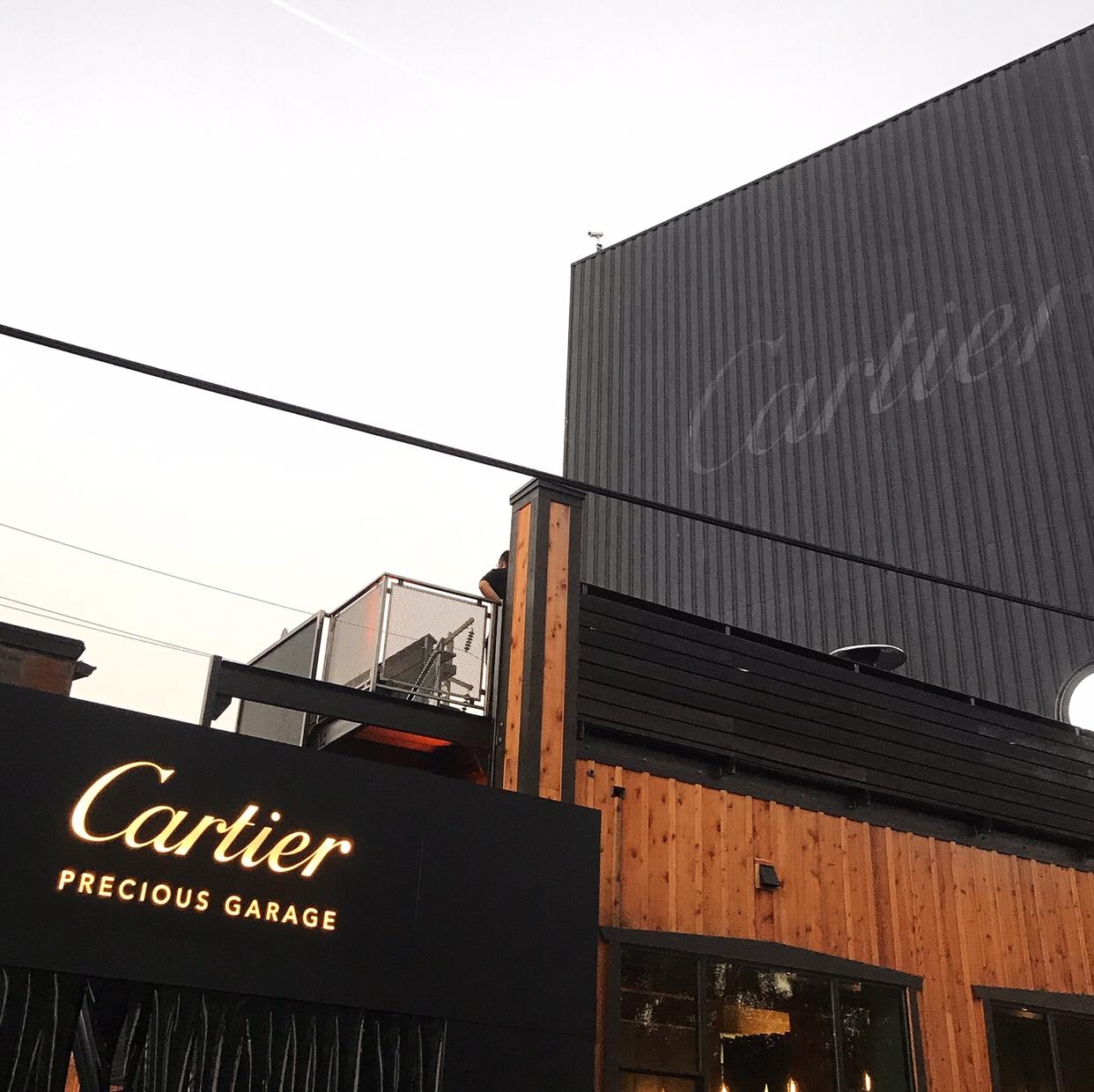 Cartier Precious Garage pop-up in Seattle