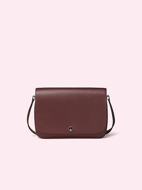 nicola roasted fig medium shoulder bag, $358