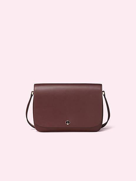 nicola roasted fig medium shoulder bag, $358