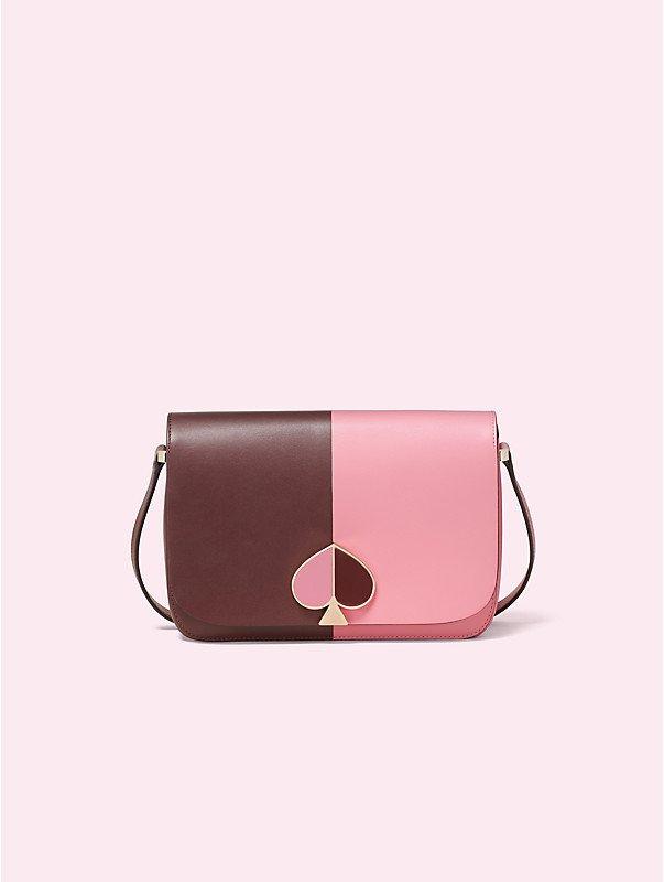 kate spade nicola bicolor medium shoulder bag, $398