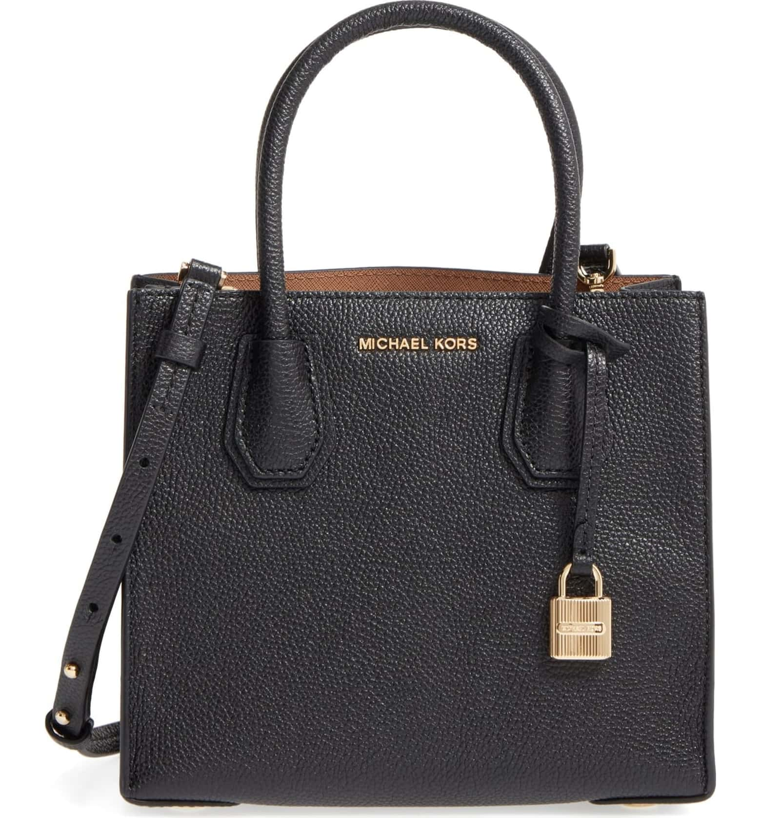 Michael Kors Mercer Leather Crossbody Bag