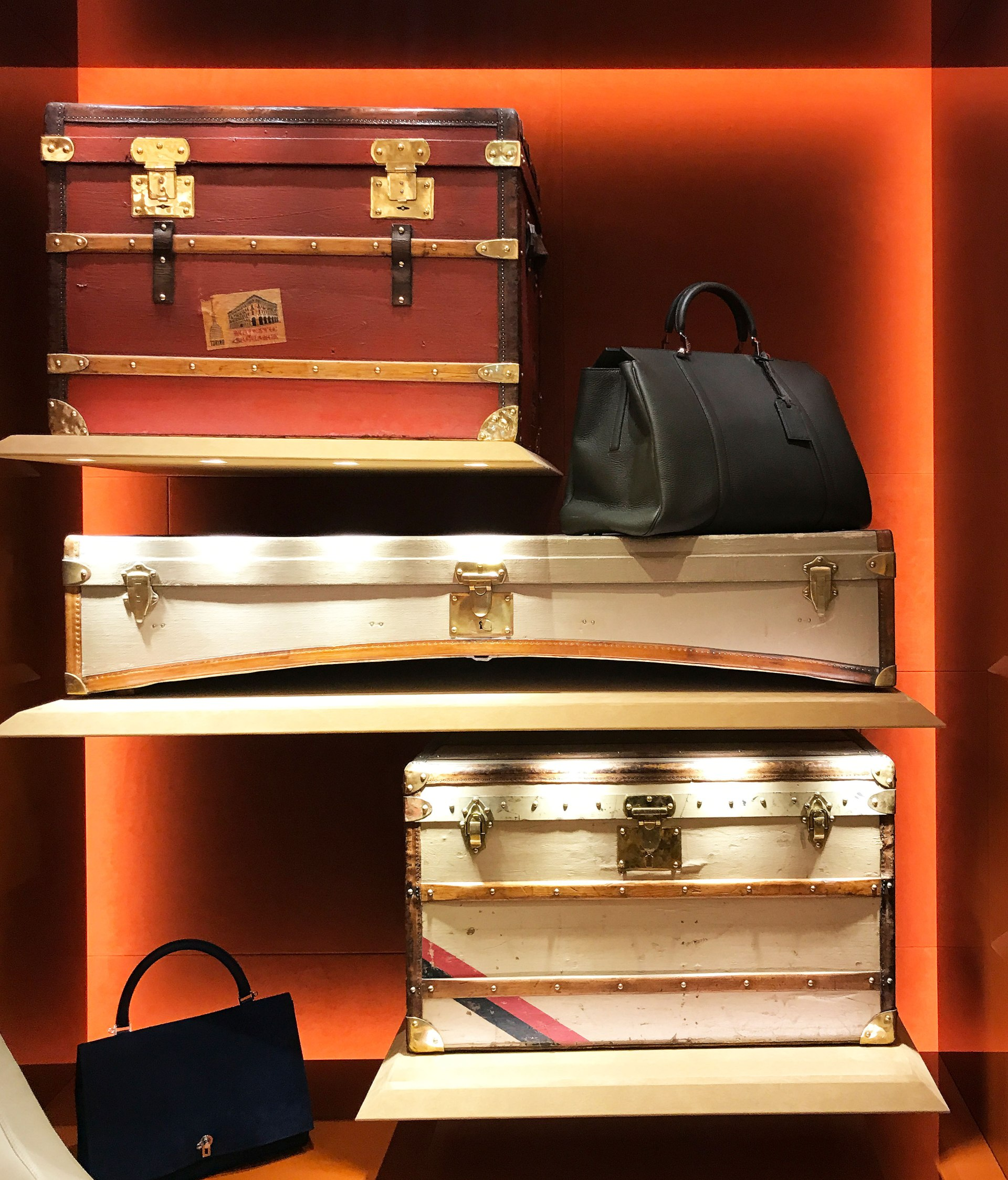 Moynat Limousine Trunks | CoffeeAndHandbags.com #moynat #leathergoods #parisfashion