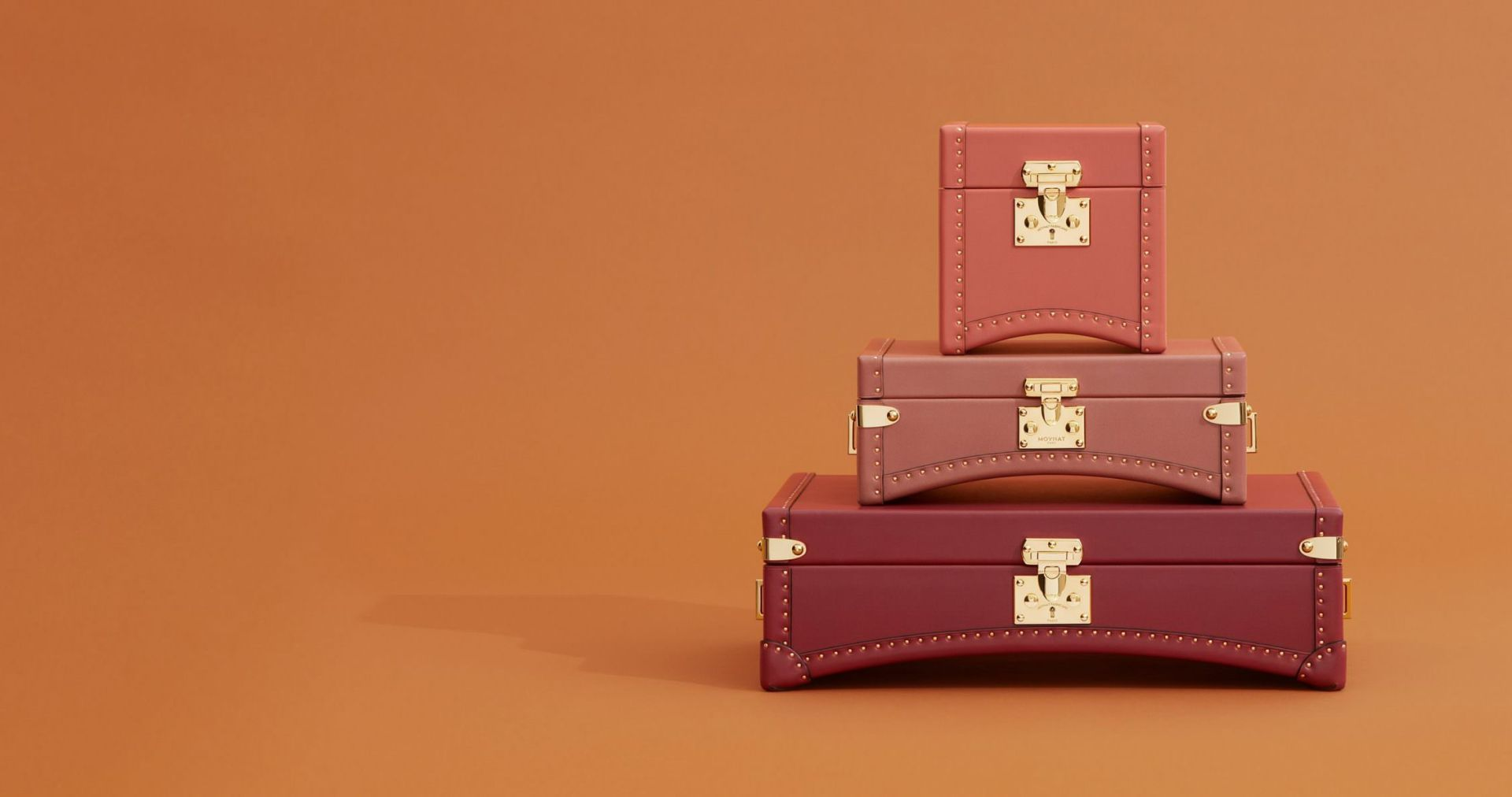 Moynat Limousine Trunks | CoffeeAndHandbags.com #moynat #luggage #malles #leather