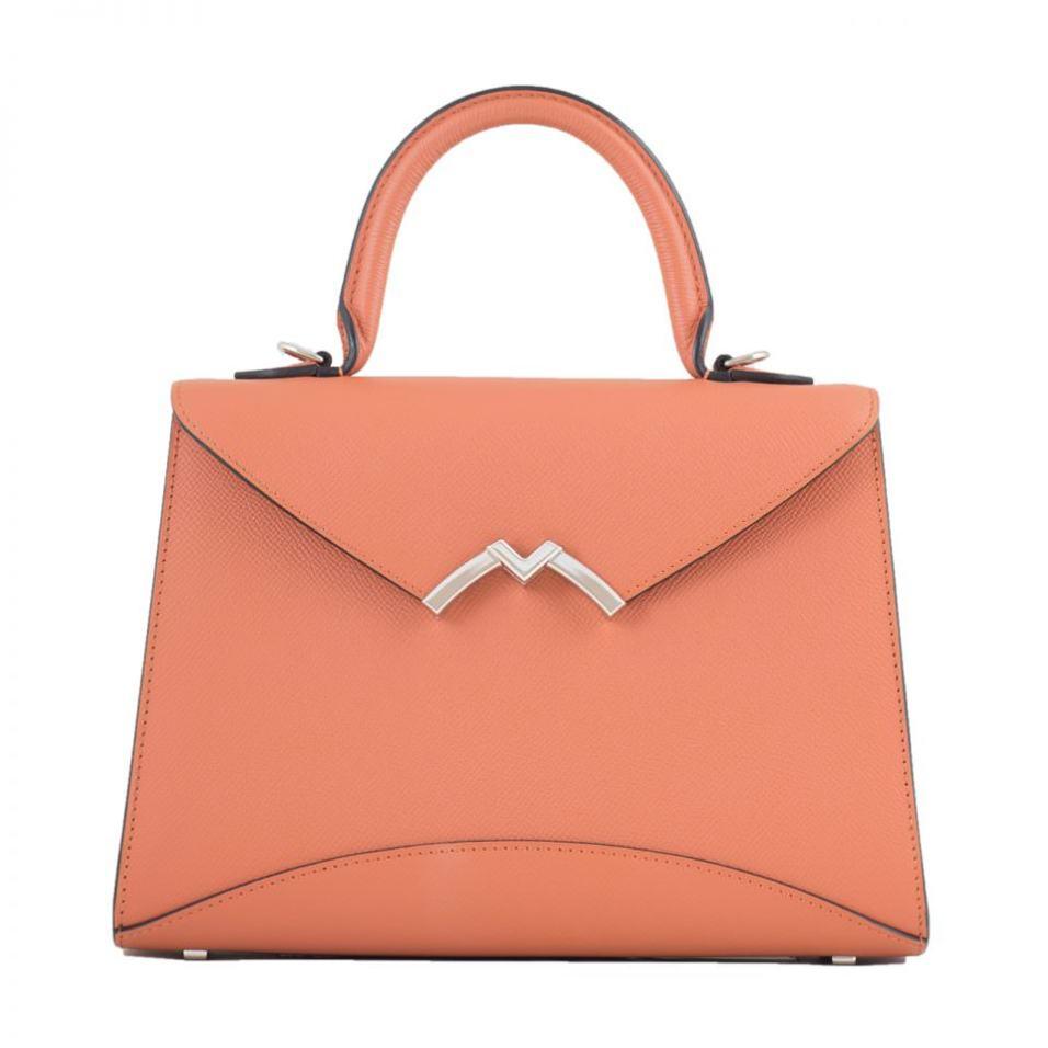 Moynat Garbrielle Top Handle Bag   CoffeeAndHandbags.com