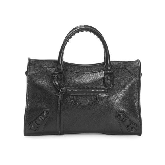 Balenciaga Black Small City Bag