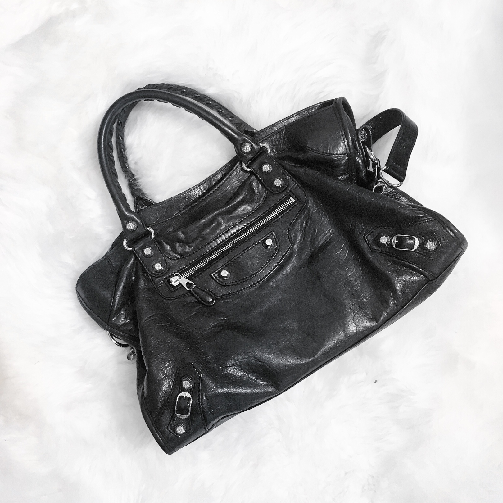 6fde514bc036 Is the Balenciaga Motorcycle bag a Classic or just an It-bag  – Coffee and  Handbags