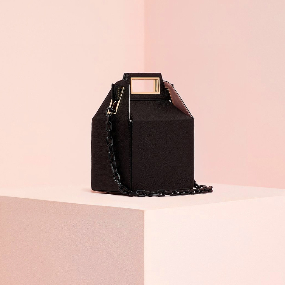 Pop and Suki Black Takeout Bag