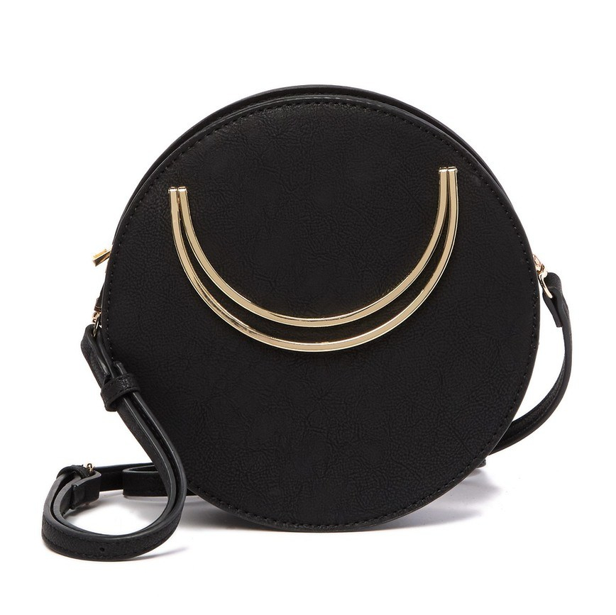 Street Level Circular Crossbody Bag | Best Round Bags for Spring 2019 | CoffeeAndHandbags.com