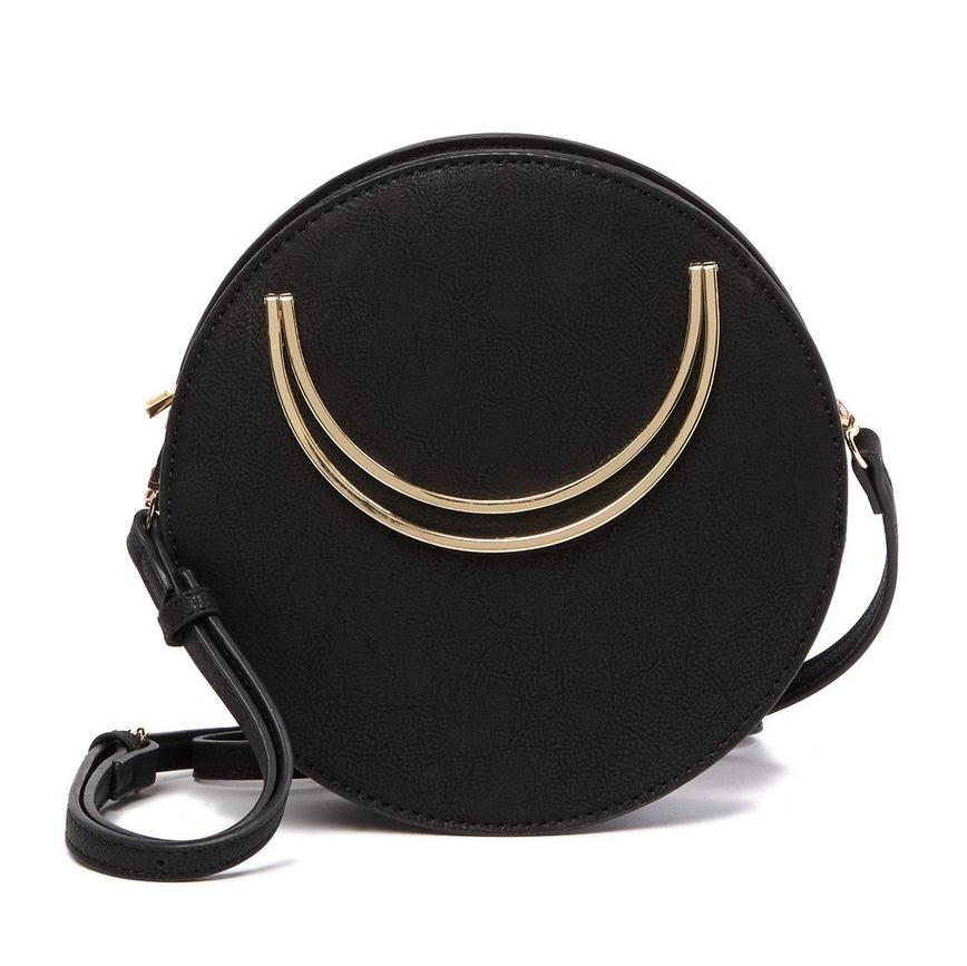 Street Level Circular Crossbody Bag | Best Round Bags for Spring 2019 | CoffeeAndHandbags.com