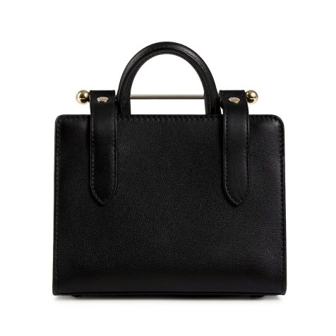 Strathberry Nano Tote Black