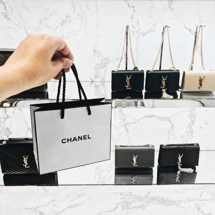 Chanel Shopping YSL Monogram Bags