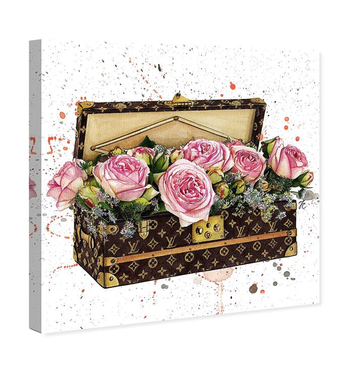 Oliver Gal Fashion Art Flower Trunk
