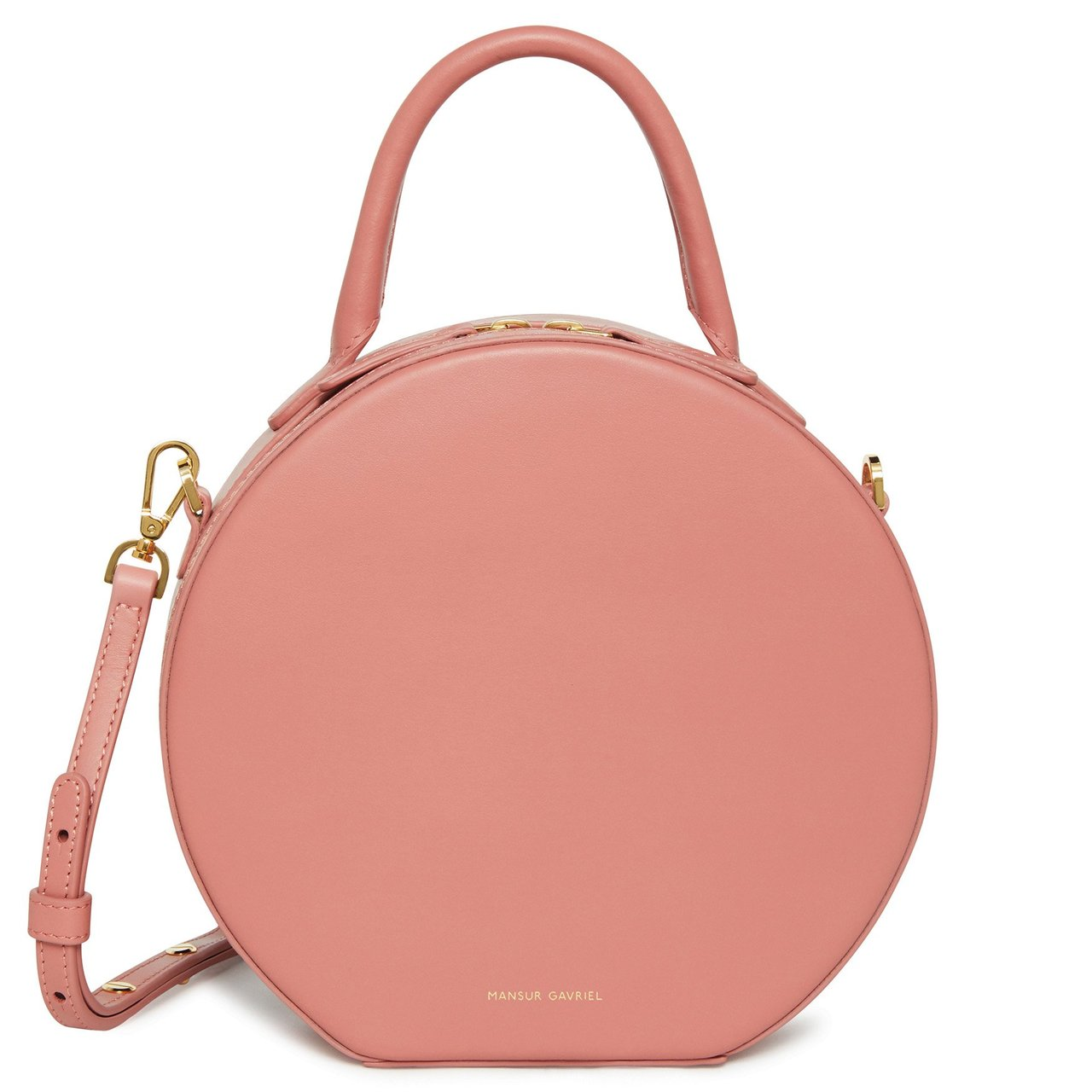 Mansur Gavriel Circle Crossbody Bag | Best Round Bags for Spring 2019 | CoffeeAndHandbags.com