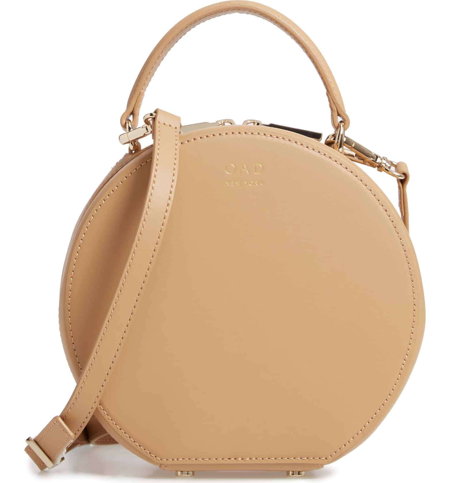 6362a6397 The OAD Mini Circle Bag | Best Round Bags for Spring 2019 |  CoffeeAndHandbags.com