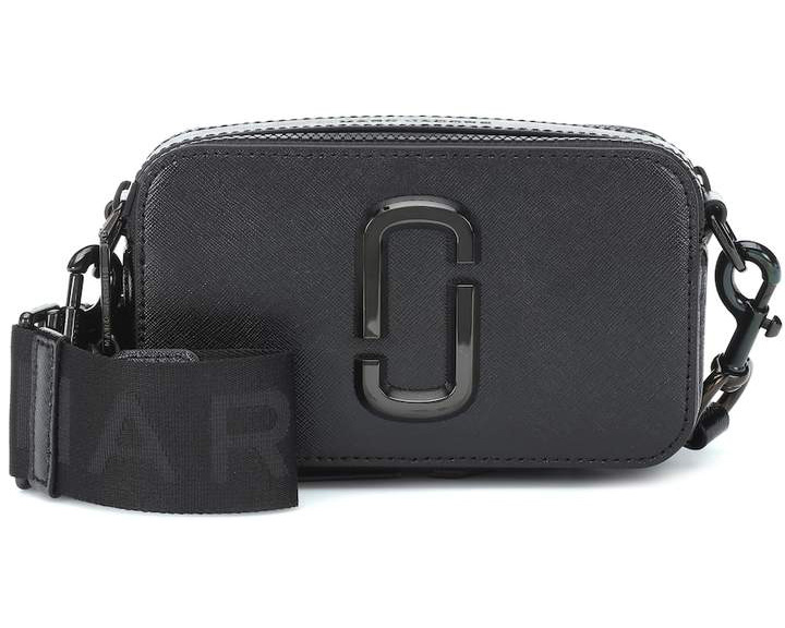 Marc Jacobs Black Snapshot Camera Bag under 500