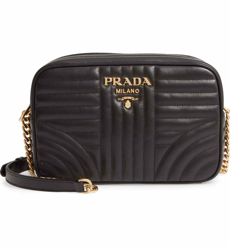 Prada Quilted Leather Camera Bag