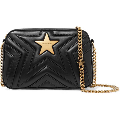 Stella McCartney Star Quilted Camera Bag