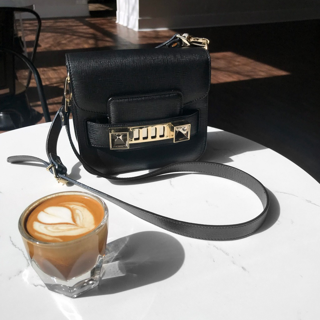 Proenza Schouler PS11 Tiny with Latte