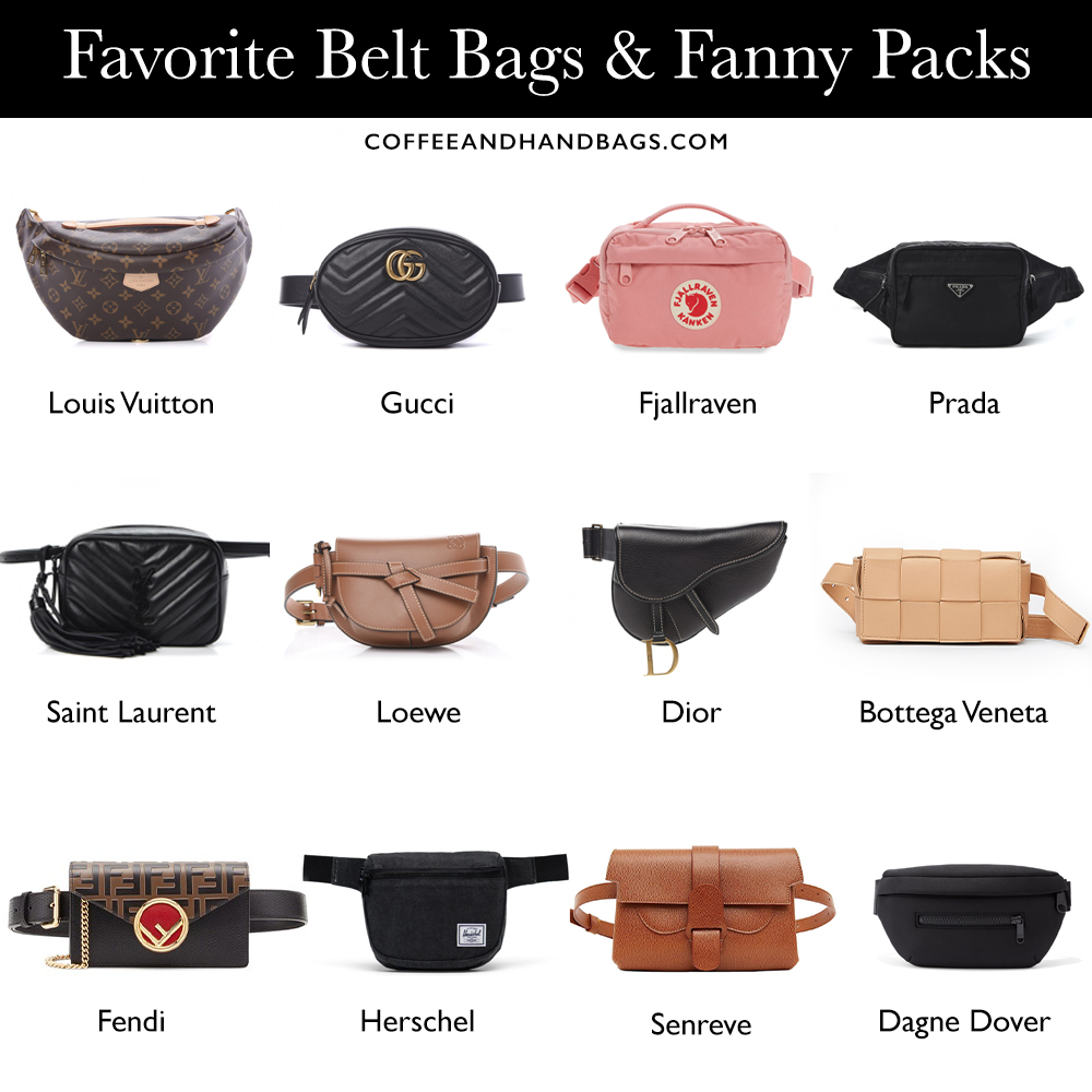 Best designer belt bags | Coffee and Handbags
