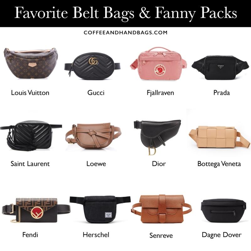 Best designer belt bags | Coffee and Handbags